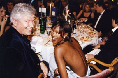 Mark Collins and Naomi Campbell