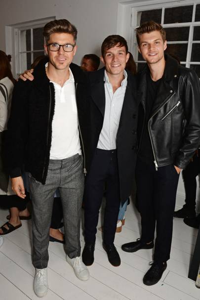 Darren Kennedy, Will Best and Jim Chapman