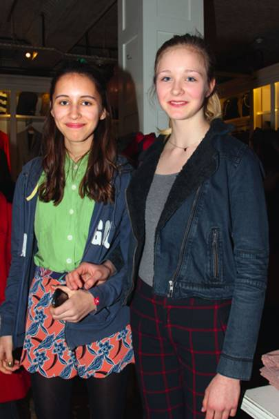 Maisie Muir and Connie Beale