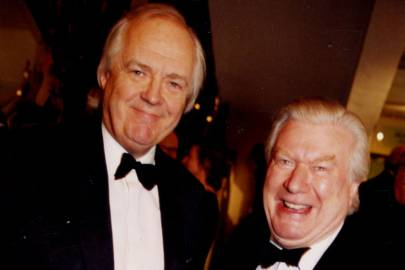 Sir Tim Rice and Colin Ingleby Mackenzie