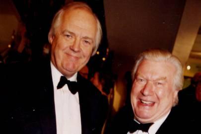 Sir Tim Rice and Colin Ingleby Mackenzie