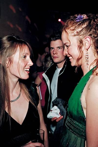 Anna Tyzack and Alicia Fox-Pitt