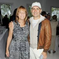 Lady Rogers and Marc Quinn