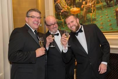 Grant Ottingham-Morris, Marc Bale and John Henderson