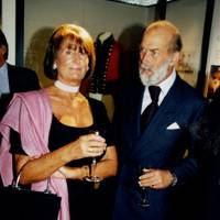 Lady Annabel Goldsmith and Prince Michael of Kent