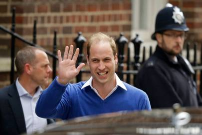 The Duke of Cambridge at the Lindo Wing