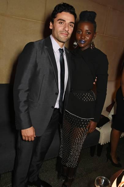Oscar Isaac and Lupita Nyong'o