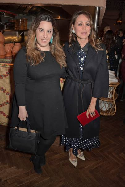 Mary Katrantzou and Sofia Barattieri