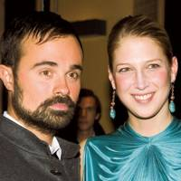Evgeny Lebedev and Lady Gabriella Windsor