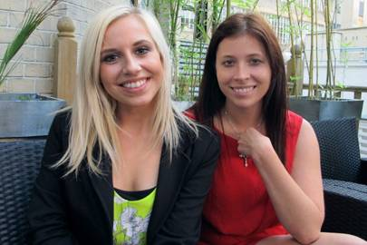 Roxanne Parker and Natalie Podgorski