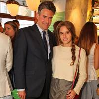 Ed Taylor and Alessandra Balazs