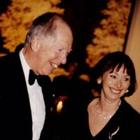 Lord Rothschild and Mrs Poju Zabludowicz