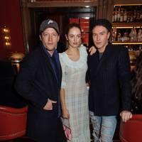 Robin Scott-Lawson, India Moncreiffe and Fletcher Cowan