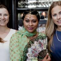 Beth Dowling, Ariane Barnes and Iselin Aslakstrøm