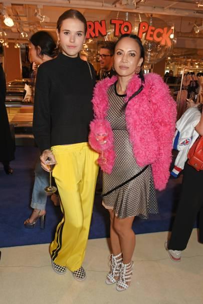 Frankie Herbert and Vicky Lee