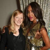 Sarah Burton and Naomi Campbell