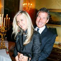 Amanda Wakeley and Hugh Morrison