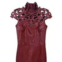Leather dress, £4,450, by Jitrois