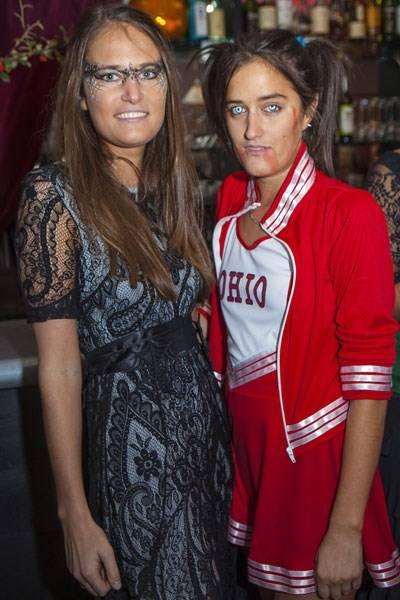 Victoria von Westenholz and Violet von Westenholz