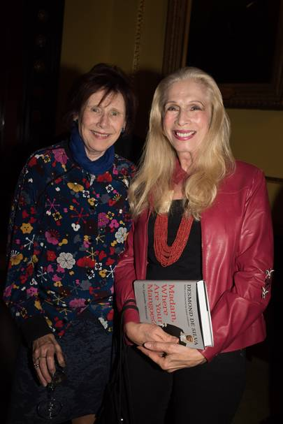 Marjorie Wallace and Lady Colin Campbell