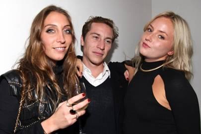 Tori Steinberg, Patrick Bingley and Sophie Scrimgeour