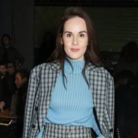 Michelle Dockery at Burberry A/W18
