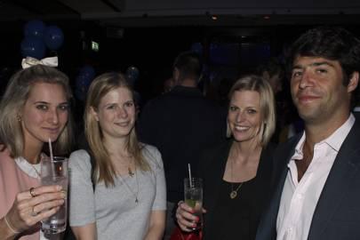 Katie Hughes, Alice Forterre, Louise Tainton and Nikko Kirby