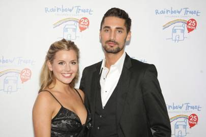 Caggie Dunlop and Hugo Taylor