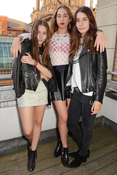 Danielle Haim, Este Haim and Alana Haim