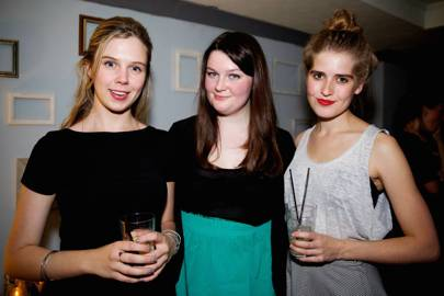 Lara Prendergast, Olivia Williams and Charlotte Goldney
