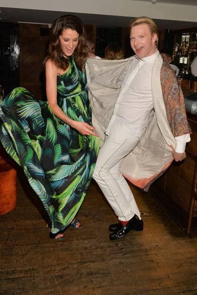 Rosanna Falconer and Henry Conway