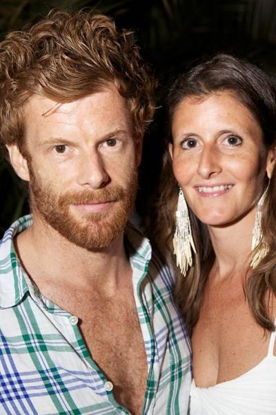 Tom Aikens and Justine Dobbs-Higginson