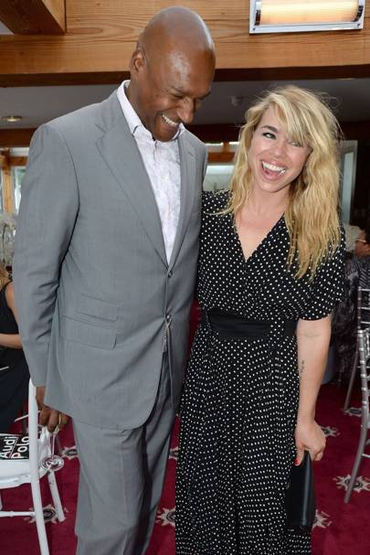 Colin Salmon and Billie Piper