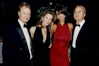 Mark Swire, Nicolai James, Mrs Carlo Monteverde and Carlo Monteverde