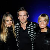 Cressida Bonas, Jacobi Anstruther-Gough-Calthorpe and Isabella Anstruther-Gough-Calthorpe