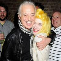Jimmy Page and Pam Hogg