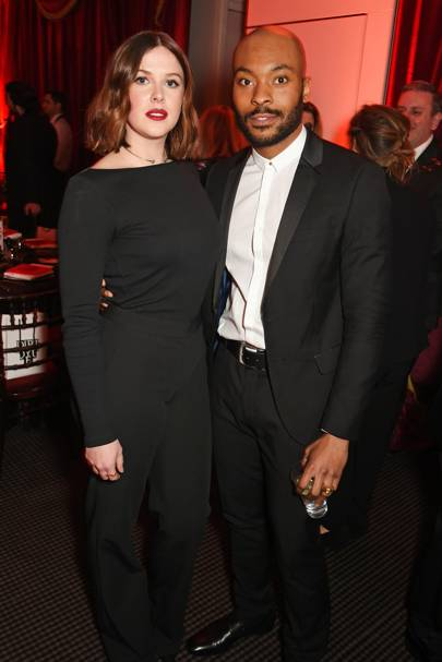Alexandra Roach and Arinze Kene