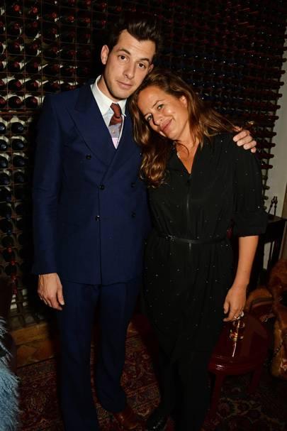 Mark Ronson and Jade Jagger