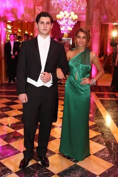 Earl Brando Brandolini and Isabella Mattos