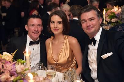 Frankie Dettori, Genevieve Gaunt and Laurent Feniou