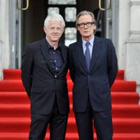 Richard Curtis and Bill Nighy