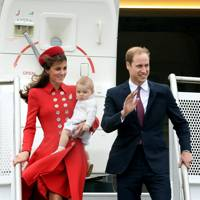 The Duchess of Cambridge, Prince George of Cambridge and The Duke of Cambridge