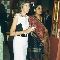 Lady Charles Spencer-Churchill and Sunita Kohli