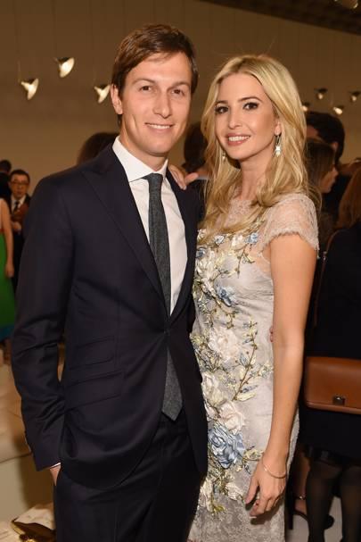Ivanka y su esposo, Jared Kushner