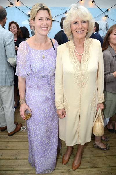 Sara Buys and the Duchess of Cornwall