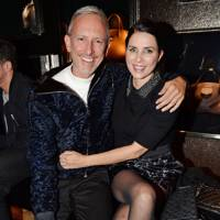 Patrick Cox and Sadie Frost