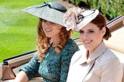 With Princess Beatrice, 2014