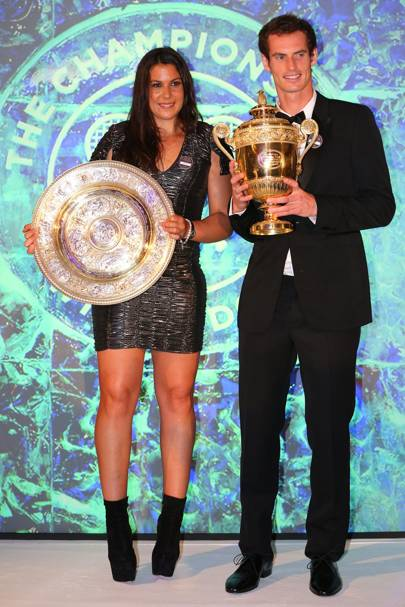 Andy Murray and Marion Bartoli