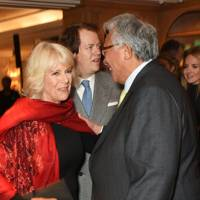 The Duchess of Cornwall, Tom Parker-Bowles and Sir David Tang, 2016