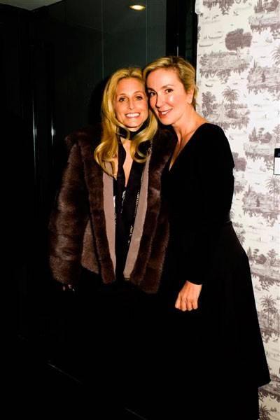 Pia Getty and Zeynep Keyman